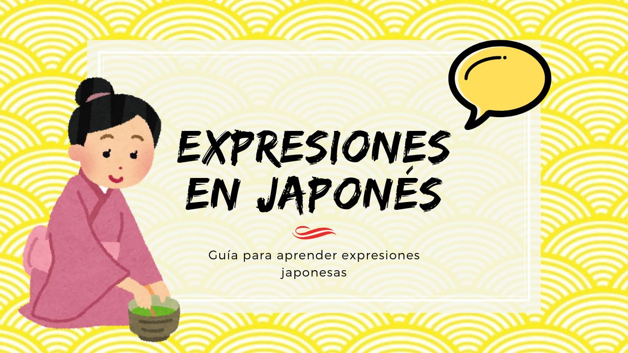 Expresiones en japonés
